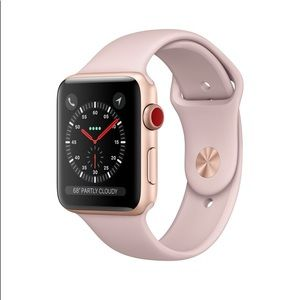Pink sand Apple Watch sport band s/m & m/L
